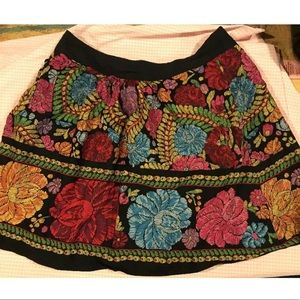 Anthropologie Edme Esyllte Floral Skirt Size S
